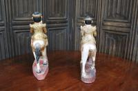 Pair of Chinese Painted Figures On Horseback (4 of 6)
