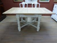 Stunning Painted Table & 6 Chairs c.1920 (9 of 11)