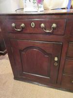 Superb Georgian Antique Oak Cupboard Dresser (3 of 11)