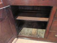 Superb Georgian Antique Oak Cupboard Dresser (6 of 11)