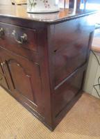 Superb Georgian Antique Oak Cupboard Dresser (7 of 11)