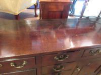 Superb Georgian Antique Oak Cupboard Dresser (9 of 11)