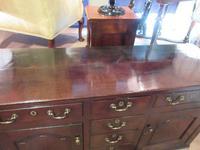 Superb Georgian Antique Oak Cupboard Dresser (10 of 11)