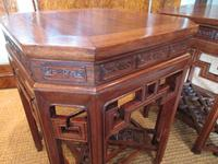 Superb Pair of Oriental Antique Lamp Tables (4 of 6)