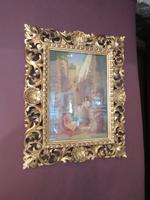 Antique Italian School Oil on Canvas Painting