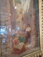 Antique Italian School Oil on Canvas Painting (2 of 6)