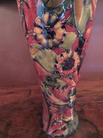 Superb Pair of Antique Moorcroft Spanish on Ochre Vases (4 of 7)