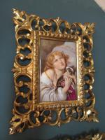 Pair of 19th Century Vienna Porcelain Plaques (3 of 8)