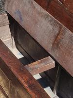 Superb George I Period Oak Settle Table c.1720 (5 of 9)