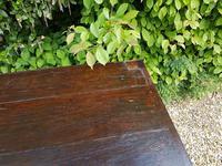 Superb George I Period Oak Settle Table c.1720 (7 of 9)