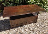 Superb George I Period Oak Settle Table c.1720 (2 of 9)