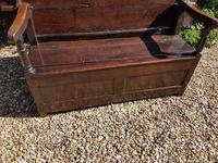 Superb George I Period Oak Settle Table c.1720 (4 of 9)