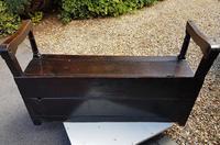 Superb George I Period Oak Settle Table c.1720 (8 of 9)