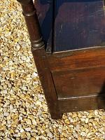 Superb George I Period Oak Settle Table c.1720 (3 of 9)