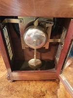 William IV Flame Mahogany Fusee Bracket Clock (5 of 5)