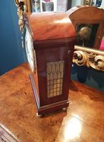 William IV Flame Mahogany Fusee Bracket Clock (4 of 5)