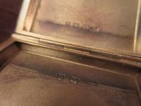 George V Silver & Pale Blue Enamel Card Case (4 of 6)