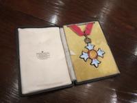 Genuine George V Cbe Medal in Case