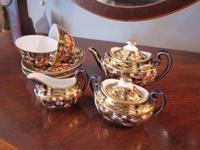 Edwardian Royal Crown Derby Miniature Tea Set