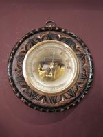 Superb Victorian Gilt Decorative Skeletonised Barometer (2 of 6)