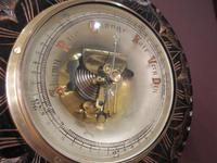 Superb Victorian Gilt Decorative Skeletonised Barometer (6 of 6)