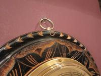 Superb Victorian Gilt Decorative Skeletonised Barometer (5 of 6)