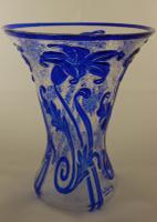 Thomas Webb & Sons Art Deco Lily Vase 1935