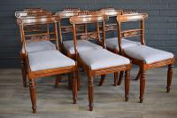 Set of 6 Regency Rosewood Chairs