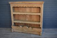 Continental Oak Plate Rack / Bookshelves
