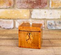 Rare Harewood Single Georgian Tea Caddy