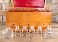 Late George III Satinwood Toilet Box by Bayley & Blew (14 of 16)