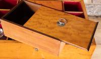Late George III Satinwood Toilet Box by Bayley & Blew (6 of 16)