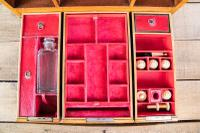 Late George III Satinwood Toilet Box by Bayley & Blew (8 of 16)