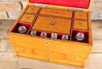 Late George III Satinwood Toilet Box by Bayley & Blew (16 of 16)