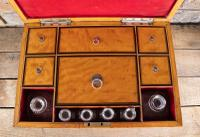 Late George III Satinwood Toilet Box by Bayley & Blew (10 of 16)