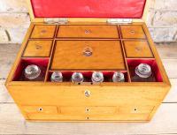 Late George III Satinwood Toilet Box by Bayley & Blew (13 of 16)