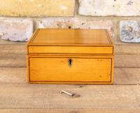Satinwood Table Box c.1860 (2 of 8)
