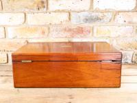 Large Mahogany Storage Box c.1850 (3 of 8)