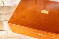 Large Mahogany Storage Box c.1850 (5 of 8)