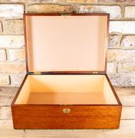 Large Mahogany Storage Box c.1850 (7 of 8)
