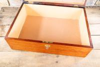 Large Mahogany Storage Box c.1850 (8 of 8)