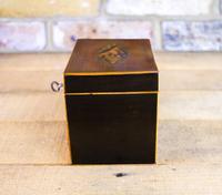 Mahogany Single Tea Caddy c.1790 (6 of 8)