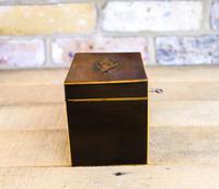 Mahogany Single Tea Caddy c.1790 (4 of 8)