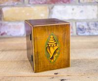 Mahogany Single Tea Caddy c.1790 (5 of 8)