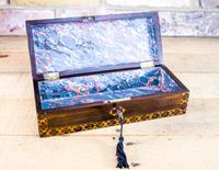 Ladies Antique Glove Box c.1860 (2 of 7)
