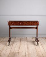 Regency Mahogany Writing Table (2 of 9)