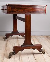 Regency Mahogany Writing Table (9 of 9)