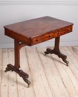 Regency Mahogany Writing Table (3 of 9)