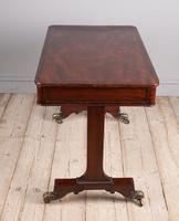 Regency Mahogany Writing Table (4 of 9)