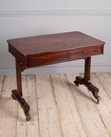 Regency Mahogany Writing Table (5 of 9)